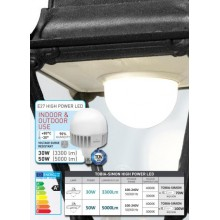 Simon HIGH POWER LED, E27-30W