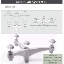 Midi pilar 3L