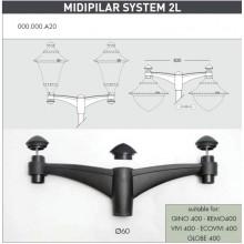 Midi pilar 2L