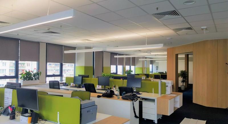 Интериорно офис осветление