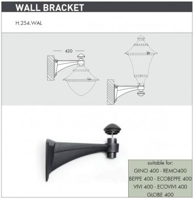 Рогатки модерен стил  WALL BRACKET MIDIPILAR